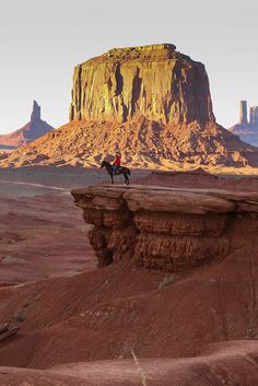 The Wild West, Monument Valley, USA  (by ukdowning)