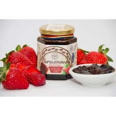 Toploveana Strawberry Jam, no added sugar or preservatives