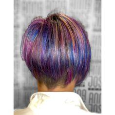 Craft hair color Fantasy Hair Color, Rainbow Hair, Dreadlocks, Craft, Hair Styles, Beauty, Hair Plait Styles, Creative Crafts, Crafting