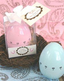 Time for Baby Egg Timer #wedding #favor #bridal