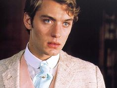 "jude law playing lord alfred douglas/bosie in the movie ""wilde"""