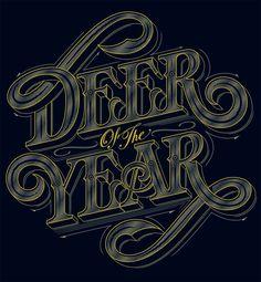 Outdoor Life – Deer of the Year - Luke Lucas – Typographer | Graphic Designer | Art Director