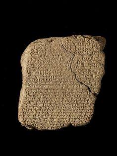 Cuneiform Tablet.  300-200. -Observation of Haley's Comet.
