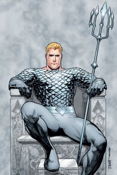 Is it just me or does Aquaman kind of sit like Loki?