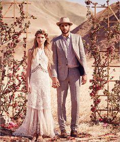 Free People FPEverAfter Bridal Collection @weddingchicks