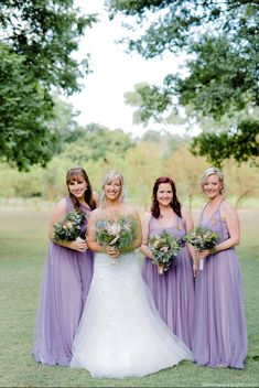 These bridesmaids looked absolutely stunning in our Lavender Edith Dresses. This is a such a flattering colour and looks great on everyone. Lavender Bridesmaid Dresses, Bridesmaids, Wedding Dresses, Absolutely Stunning, Beautiful, Every Woman, Dress Making, Designer Dresses, Looks Great
