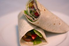 May 3rd, Light Fare: Lunch Wraps.