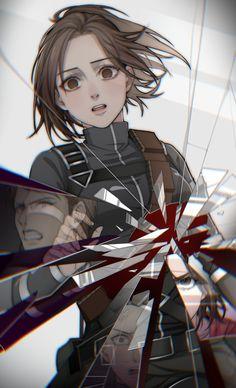 M Anime, Fanarts Anime, Anime Guys, Anime Art, Attack On Titan Comic, Attack On Titan Fanart, Potato Girl, Aot Wallpaper, Attack On Titan Aesthetic