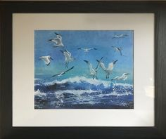 Framed watercolour Watercolour, Frame, Painting, Art, Watercolor, Watercolor Painting, Painting Art, A Frame, Paintings