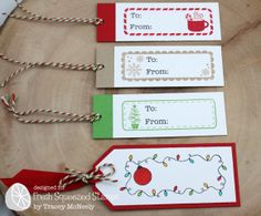Holiday Tag Alongs | Fresh Squeezed Stamps