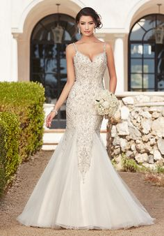 KITTYCHEN BRIANNA, K1646 Mermaid Wedding Dress