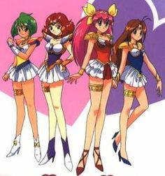 Legend of the Angel of Love: Wedding Peach- by Sukehiro Tomita Old Anime, Manga Anime, Female Characters, Anime Characters, Anime Wedding, Sailor Moon Wallpaper, Dot Art Painting, Anime Child, Girls Series