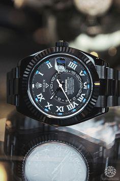 Rolex watchanish: Rolex SkyDweller Bamford Edition.Read the full article on WatchAnish.com. Mais