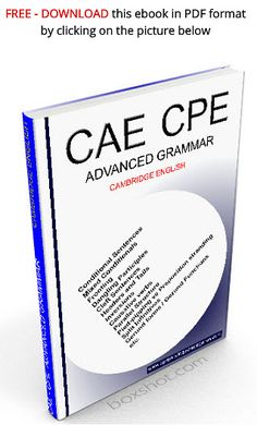 You will find in this book explanations on advanced grammar points and structures, such as mixed conditionals, fronting, inversions, parallel structures, split infinitives,etc. They are usually taught to students when they reach the most advanced levels in English. By learning them, you will be able to give more variety to both your spoken and written English and therefore achieve better results on your exams. CAE CPE Advanced grammar Grammar Sentences, Grammar Book, English Sentences, English Resources, English Tips, Learn English, Word Transformation, School Hacks, School Tips