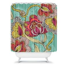 DENY Designs Valentina Ramos Beatriz Fabric Shower Curtain