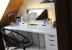 Ikea Schminkspiegel schminkzimmer alex ikea diy theaterspiegel schminkspiegel