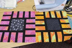 Canton Village Quilt Works ---I like this idea