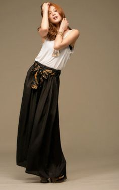 Classic Black Wide Leg Chiffon Pant for Women on BuyTrends.com, only price $10.42