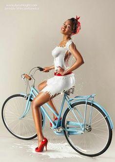 Flaps girls bike mud