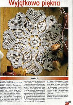 Crochet doily Picasa Web Albums