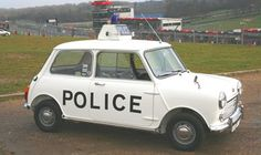 British - Mini Police and that's the Cooper S. Police Vehicles, Emergency Vehicles, American Graffiti, Classic Mini, Classic Cars, British Police Cars, Mini Cooper S, Cooper Car, Harrison Ford
