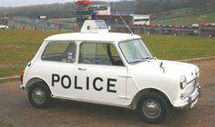 Retro #MINI Cooper Police Car http://www.miniportland.com/