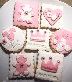 Babyshower kekse selfmade its a Girl 💕