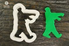 Walking Zombie Cookie Cutter