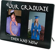 Gift Idea... Kindergarten Graduation Picture on left.... Poem about high school graduation on right that will be replaced with high school picture when they do graduate