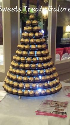 wedding cake stand hire peterborough ferrero rocher pyramid i do wedding 25630
