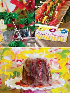 Cheerful Island Style Luau Party - Hawaii