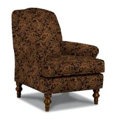 4210DP22786CH 33  Brown Upholstered Accent Chair