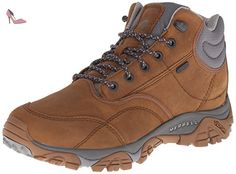Merrell Moab Rover Mid Waterproof, Chaussures de Randonnée Hautes homme,  MERRELL TAN, 43.5