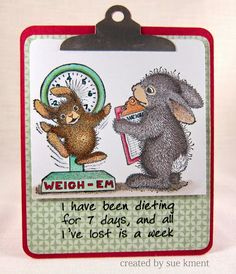 """House-Mouse & Friends Monday Challenge: Mid-Way Reminder for HMFMC#188 """"FRIENDS"""""""