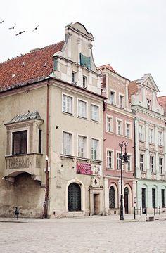 Buildings of Poznan, Poland - photography by Radostina Boseva