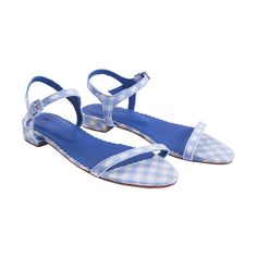 Vichy Bleu Sandal