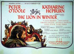 The Lion in Winter, 1968.  Another movie my Mom passed to me.