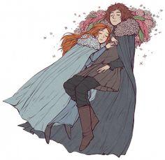 Sansa and Robb