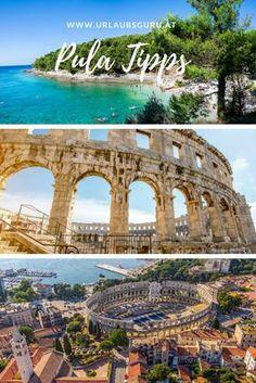 Mysterious Pula in northern Croatia - # . - Mysterious Pula in northern Croatia – - Europe Destinations, Texas Travel, Travel Usa, Beach Trip, Vacation Trips, Monte Rainier, Road Trip, Spa, Croatia Travel