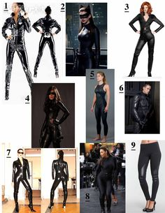 female spy suits
