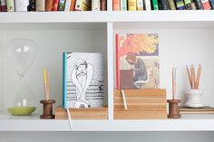 Journals so pretty you'll want to display them on a shelf.