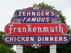 Frankenmuth, Michigan Chicken Restaurants by cseeman, via Flickr