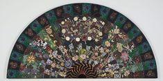 Black bolero by Miriam Schapiro, 1980 Feminist Art, Pattern And Decoration, Mixed Media Painting, Pattern Art, Jewelry Crafts, Paint Colors, Modern Art, Applique, Shapes