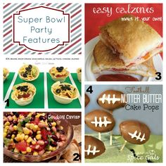 Super Bowl Party Food!