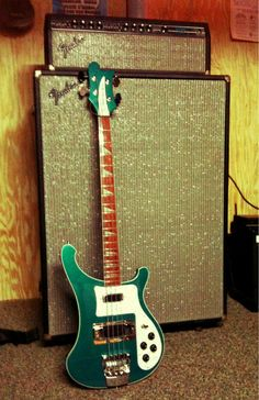 vintage delight. Awesome colour for a Rickenbacker :) - Shared by The Lewis…