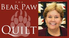 The Bear Paw Quilt: Easy Quilting Tutorial with Jenny Doan of Missouri S...