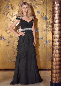 Sophisticated Evening Dresses VM Collection Mori Lee