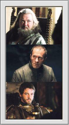 The Baratheon Brothers ~ Robert, Stannis, Renly