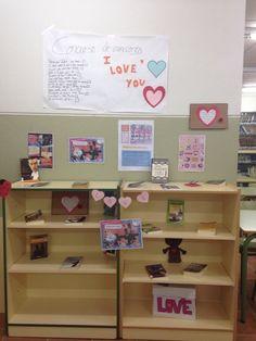 Día de San Valentín. Biblioteca del IES Vega de Atarfe
