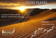 Continue to shine...